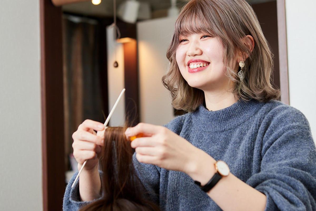 美容師求人|個室美容室GULGUL採用サイトトップ画像2